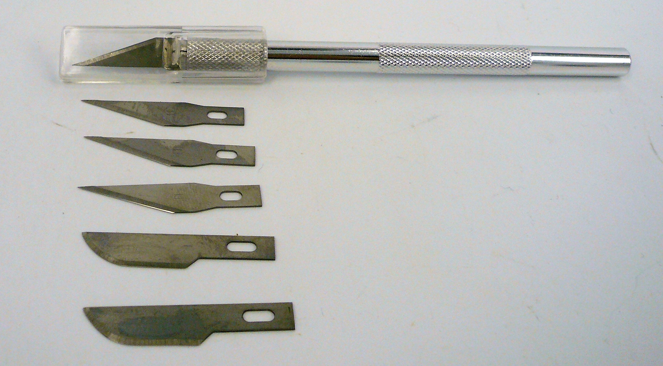 Model Expo #1 Hobby Knife w/ 6 blades ( 4 x #11 & 2 x #10)