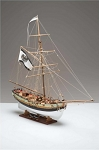 Corel SM62 King of Prussia - Wooden Ship Model Kit - Plank-on-Bulkhead
