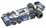 Tameo TMK 210 Tyrrell Ford P34/2 - White Metal Car Kit - Scale 1:43, RP-GB