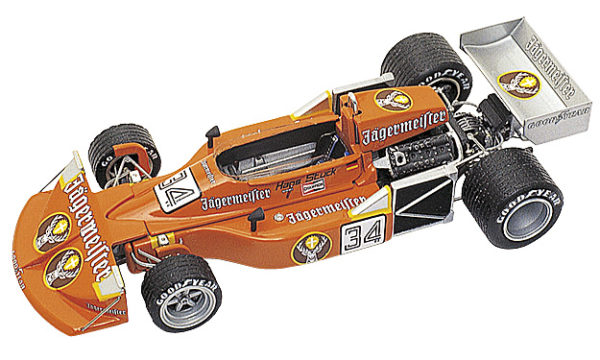 Tameo TMK271 March 761 Ford - 1976 - White Metal Car Kit - Scale 1:43, Made in Italy