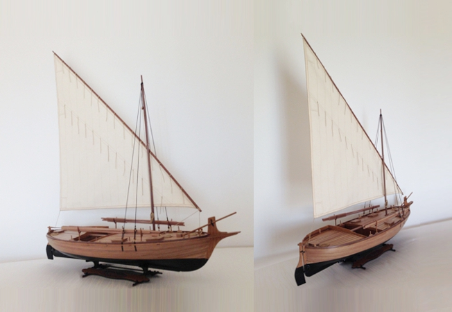 Maris Stella Trajta - fishing and Cargo Boat from Korula 1:20 Scale