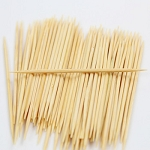 BAMBOO TOOTHPICKS 200 STICKS/BOTTLE - USE AS TRUNNELS