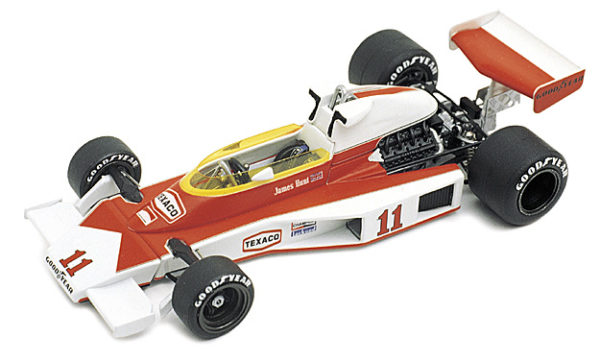 Tameo WCT076 McLaren M23 Ford Cosworth - 1976 French Grand Prix - White Metal Car Kit - Scale 1:43, Made in Italy