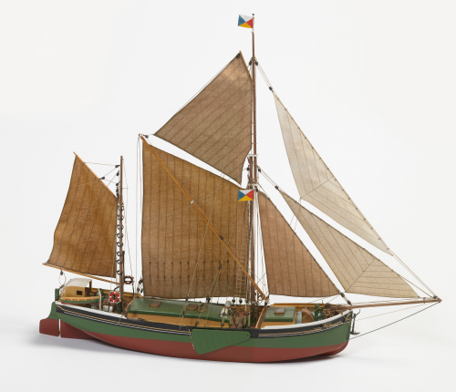 Billing Boats Will Everard 1:67 Scale Wooden Hull