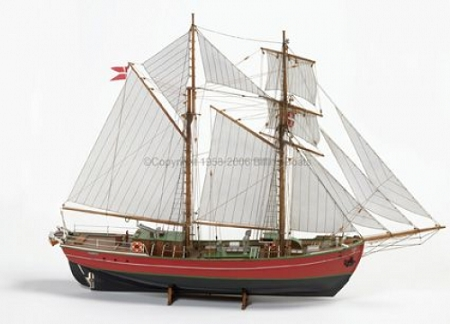 Billing Boats Lilla Dan 1:50 Scale Wooden Hull