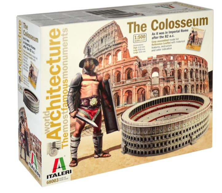 The Colosseum World Architecture 1:500 Scale Plastic Kit