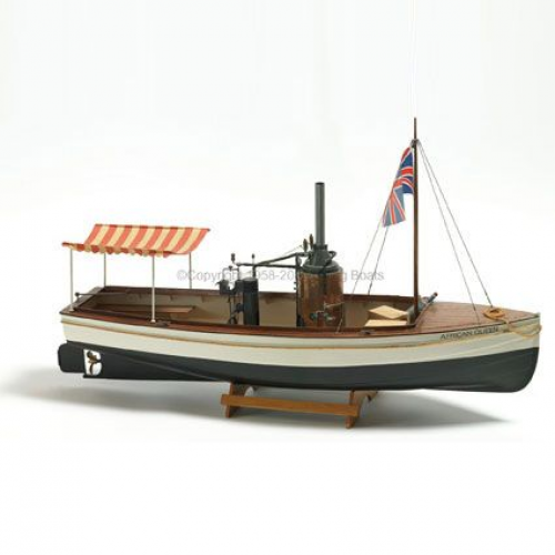 Billing Boats 1:12 Scale African Queen - Plastic hull