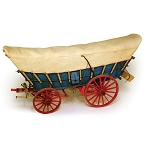 MODEL TRAILWAYS CONESTOGA WAGON     1:12 SCALE