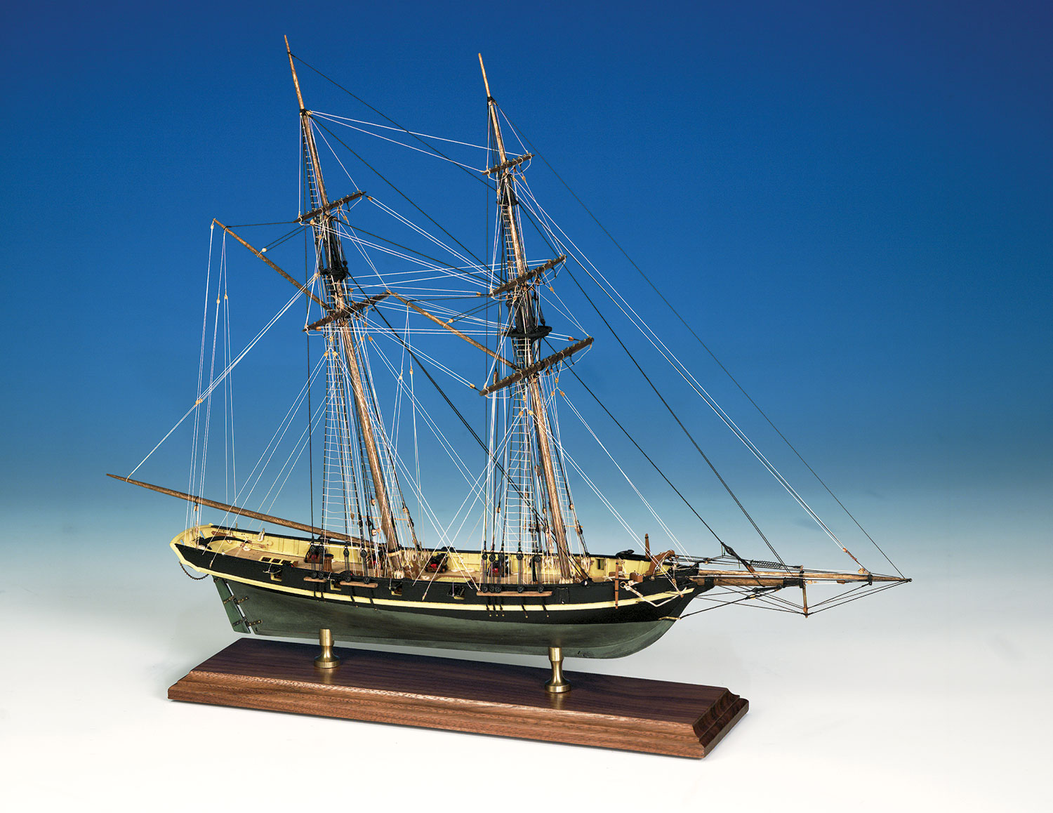 MODEL SHIPWAYS MS2003 DAPPER TOM BALTIMORE CLIPPER SOLID HULL 5/32