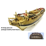 Model Shipways USF CONFEDERACY 1778 1:64 SCALE