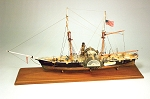 Model Shipways HARRIET STEAM PADDLE CUTTER 1857  1/2