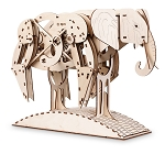 Mr. Playwood Wooden Mechanical Elephant