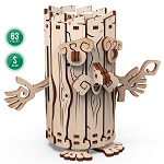 Mr. Playwood Wooden Mechanical Forest Spirit moneybox