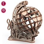 Mr. Playwood˜Wooden Mechanical Globe Small