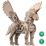 Mr. Playwood Wooden Mechanical Mechanical Unicorn Small