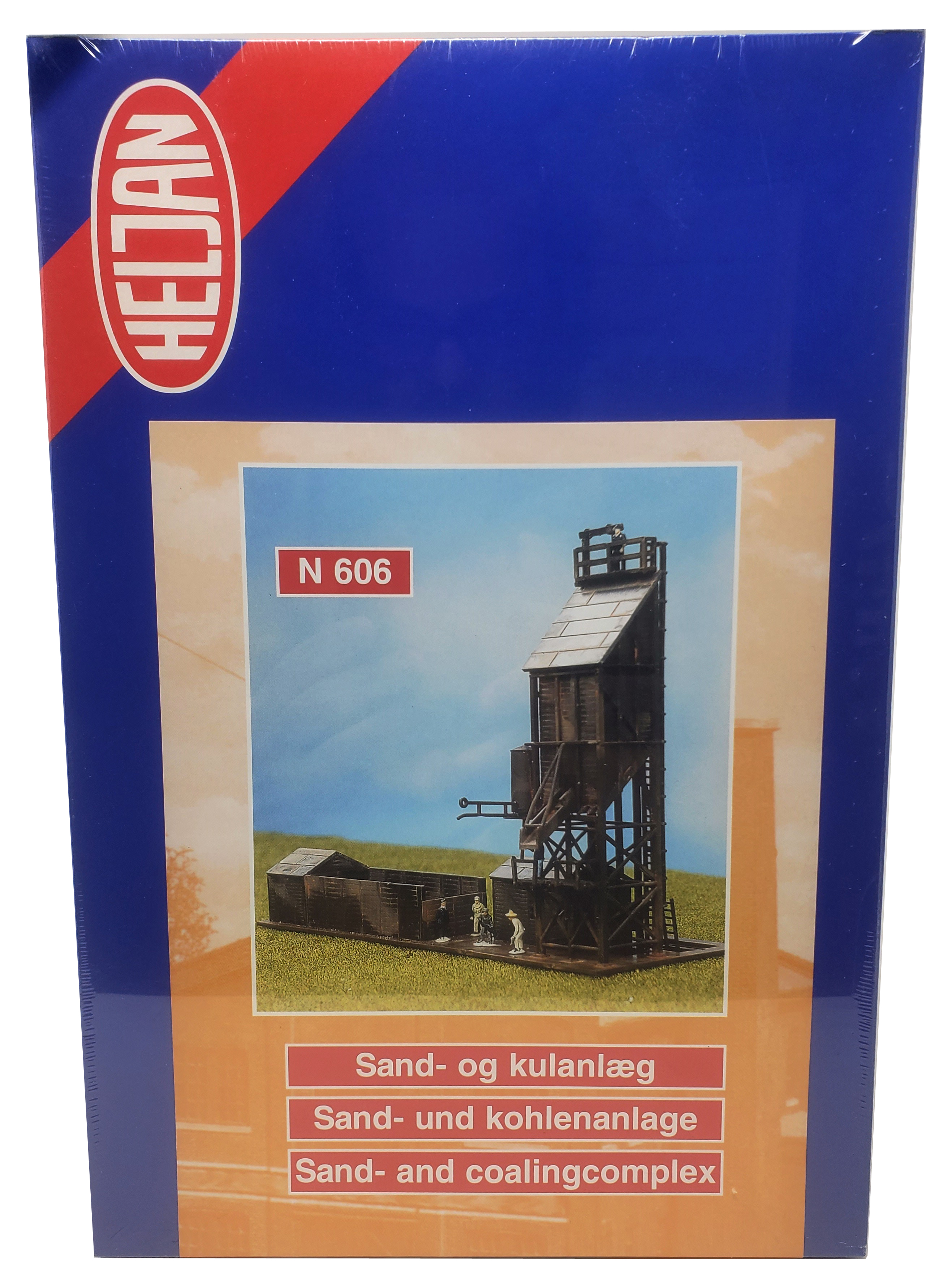 Heljan N Scale Sand and Coaling Station Plastic Kit