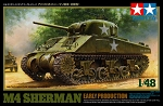 US Medium Tank Sherman M4 Early 1/48 Scale