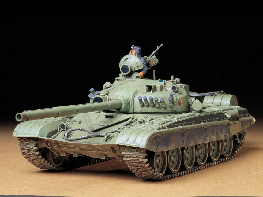 Tamiya Russian Army T72M1 Tank 1/35 Scale
