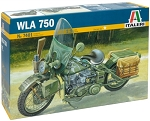 Harley Davidson WLA 750 Motorcycle 1:9 Scale