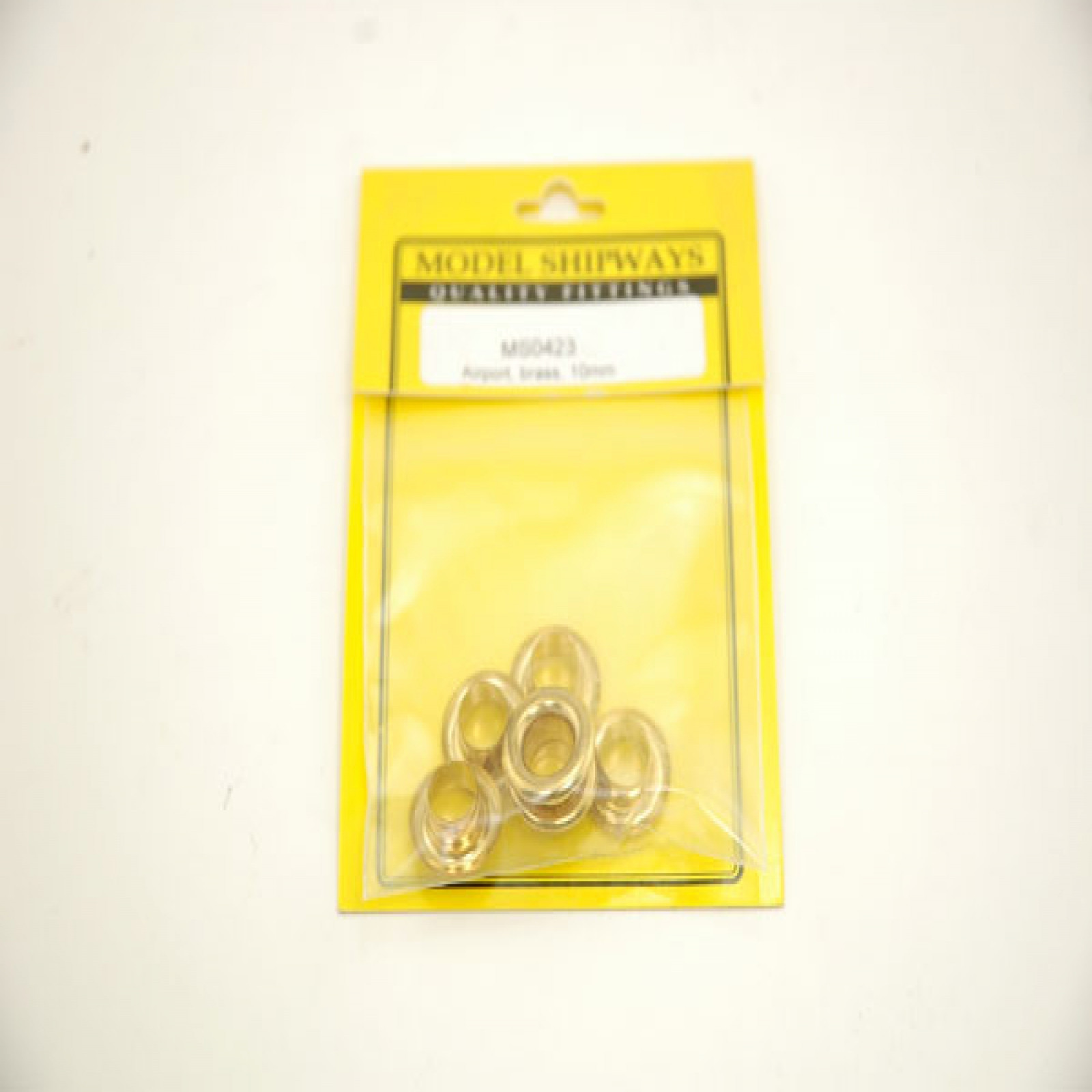 AIRPORT, BRASS, 3/8 (10MM), 6 PER PACK