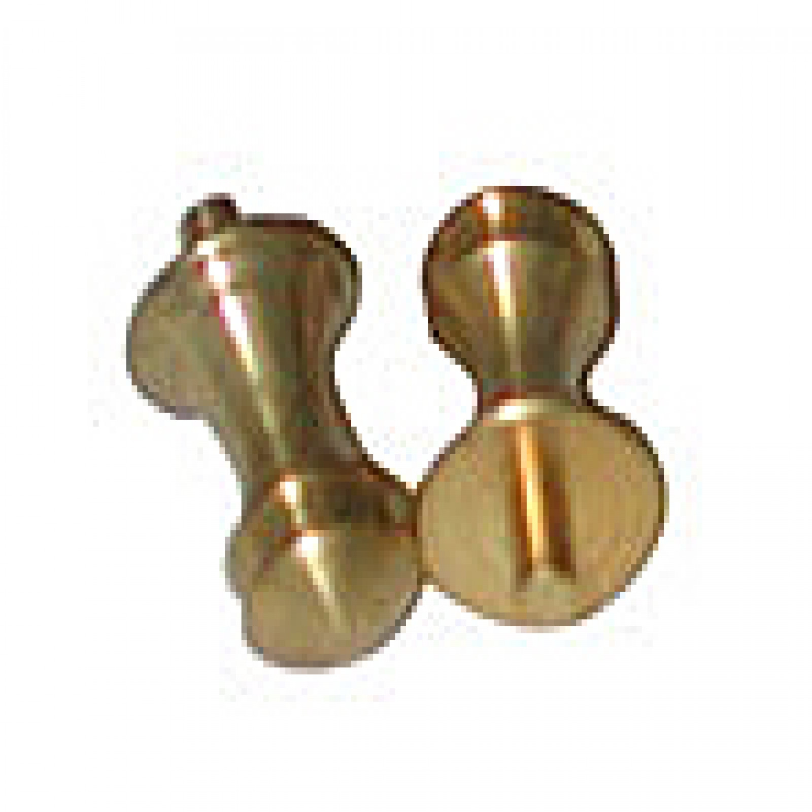 CAPSTAN,  Brass 8mm  LATER STYLE  2/pack