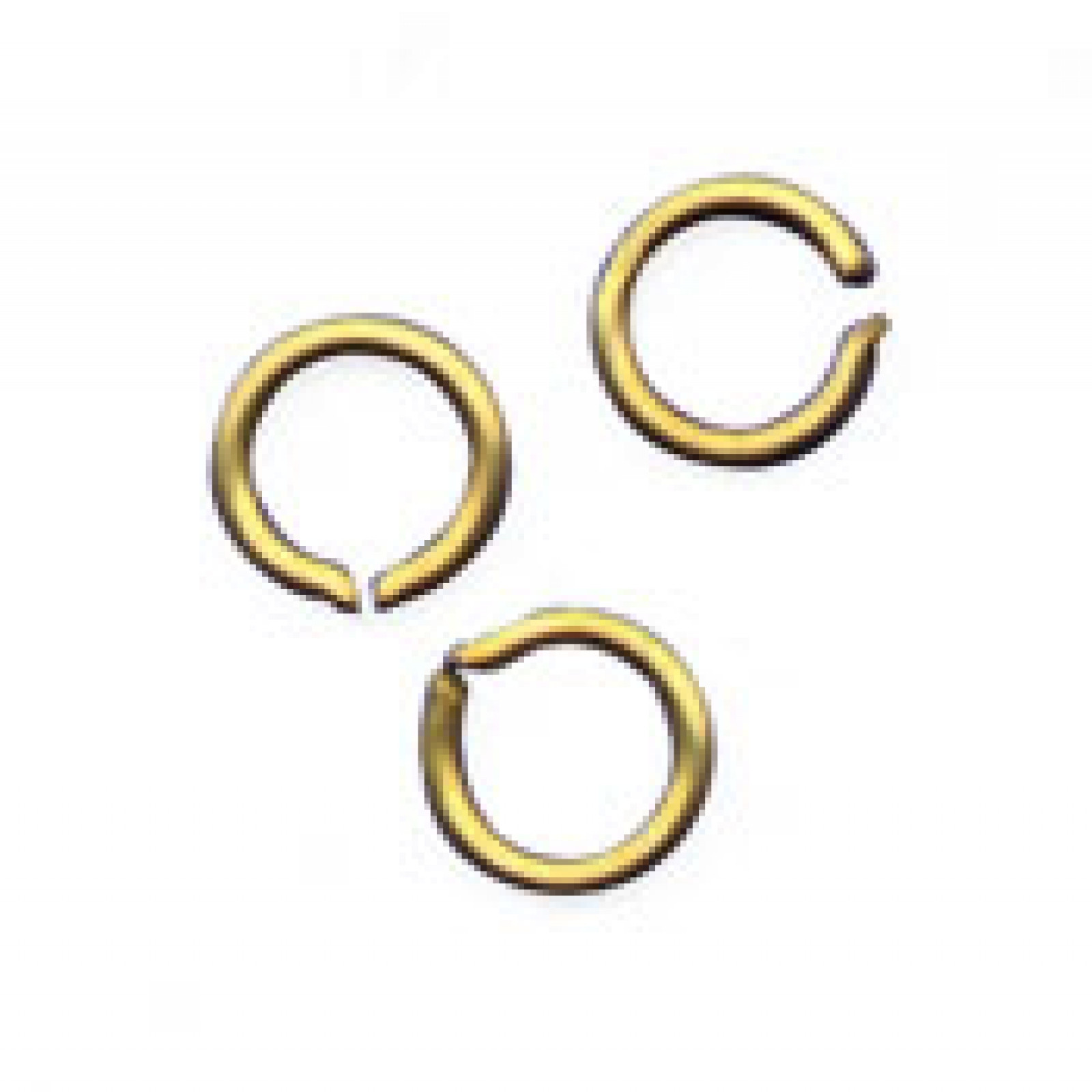 SPLIT RINGS, Brass 1/2
