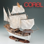 COREL COCCA VENETA WOOD SHIP KIT