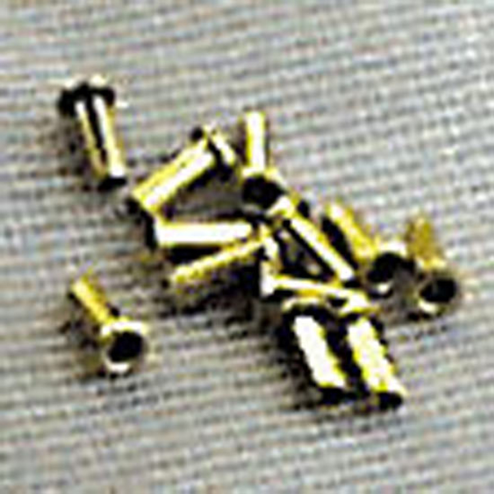 AIRPORT,Brass 3mm 24/pack