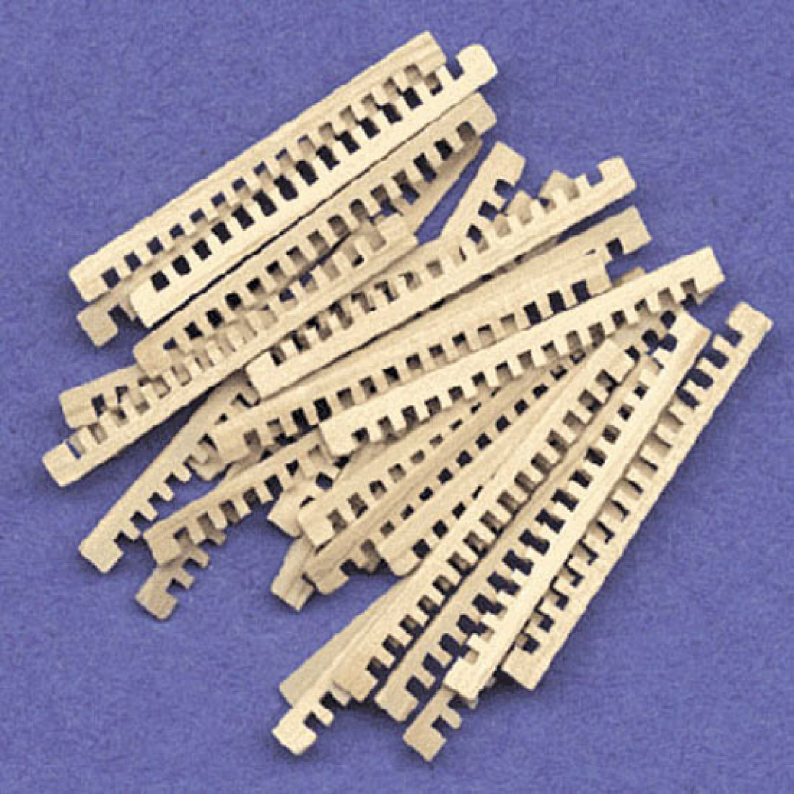 Model Shipways GRATINGS, 39 x 1.25mm Sq.60 pack