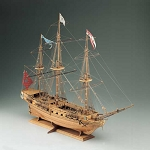 COREL SIRENE 30-GUN FRENCH FRIGATE 1:75