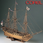 COREL HMS UNICORN BRITISH FRIGATE 1:75  SCALE KIT