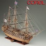 COREL HMS VICTORY 1:98 SCALE DOUBLE PLANKED KIT