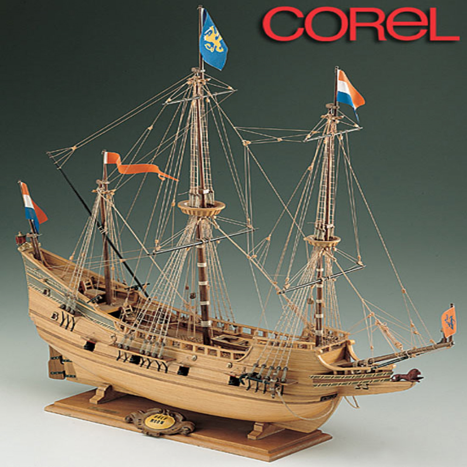 Corel Half Moon Wood Ship Model Kit 1 50