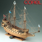 COREL LA COURONNE   WOOD SHIP MODEL KIT