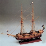 COREL AMPHION 18TH CENTURY SCHOONER 1:40