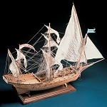 COREL MYSTIQUE WOOD SHIP KIT 1:50 SCALE