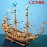 COREL PRINS WILLEM WOOD SHIP KIT 1:100 SCALE