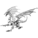 ICONX - ICX023 Silver Dragon