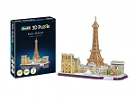 Revell of Germany Paris Skyline 3D Puzzle