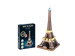 Eiffel Tower with LED Lights 3D Puzzle