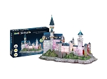 Schloss Neuschwanstein With LED Lights 3D Puzzle