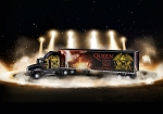 Queen Tour Truck (50th Anniversary) 3D Puzzle