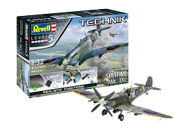 Revell of Germany Supermarine Spitfire MK.IXC Technik 1:32 Scale