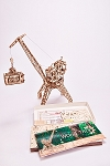 Wood Trick Crane with Container Laser Cut Plywood Kit
