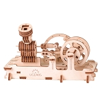 Ugears - Engine- Laser Cut Wood - 81 Parts