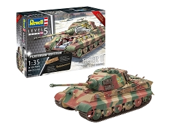 Revell of Germany Tiger II AUSF, B - Full Interior 1:35 Scale