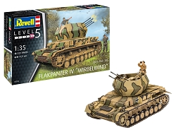 Revell of Germany Flakpanzer IV Wirbelwind 1:35 Scale