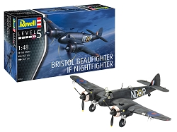 Revell of Germany Beaufighter IF Nightfighter 1:48 Scale