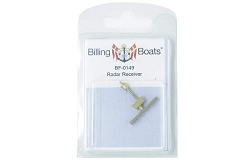 Billing Boats Radar 27x27mm 1 Pack