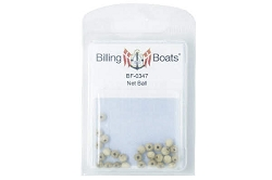 Billing Boats Wooden Net Ball 5mm 25 Pack